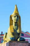 Ancient Egyptian sphinx, St Petersburg, Russia Stock Photos