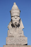 The ancient Egyptian sphinx Stock Images