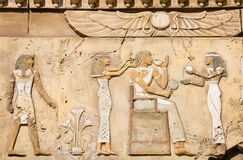 Ancient Egyptian symbols Stock Images