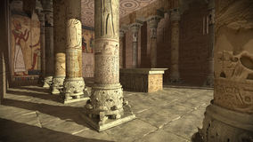 Ancient Egyptian temple Royalty Free Stock Image