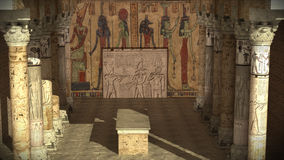 Ancient Egyptian temple Royalty Free Stock Photography
