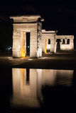 Temple of Debod Royalty Free Stock Images
