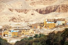 Ancient Egyptian Village Stock Image