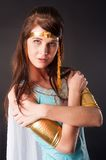 Ancient Egyptian woman - Cleopatra Royalty Free Stock Photos