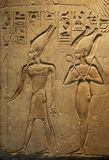 Ancient Egyptian writing Royalty Free Stock Image