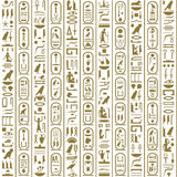 Ancient Egyptian writing royalty free illustration