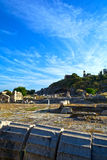 Ancient Eleusis Royalty Free Stock Photography
