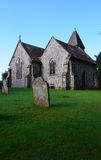 Ancient English church in rural Sussex. Royalty Free Stock Photo