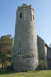 Ancient English Church Tower Royalty Free Stock Photo