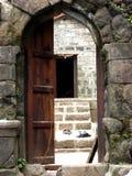 Ancient Entrance Stock Photo