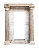 Ancient entrance with columns Royalty Free Stock Photography