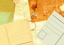 Ancient envelopes and postals Stock Image