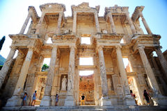Ancient ephesus celsus library Stock Photo