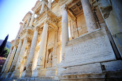 Ancient ephesus celsus library Royalty Free Stock Photography