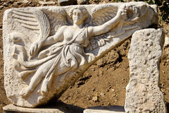 Ancient ephesus. The ancient city of ephesus in Turkey Stock Images
