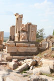 Ancient ephesus ruins Stock Photo