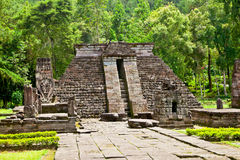 Ancient erotic Candi Sukuh-Hindu Temple on  Java, Indonesia Stock Images