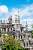 The ancient estate Quinta da Regaleira in Sintra Royalty Free Stock Images