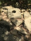 The ancient excavations. In Gelendzhik Stock Photography
