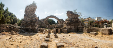 Ancient excavations, Kos, Greece Stock Photography