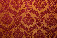 Ancient fabric with patterns Stock Photos