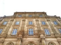 The ancient facade of the museum of art, Lyon old town, France Stock Photo