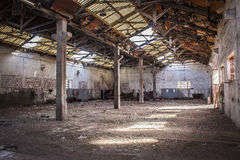 Ancient Facilities Abandoned  Alquife Mines Royalty Free Stock Photography