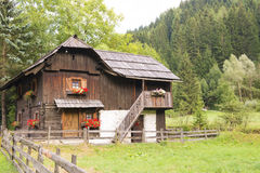 Ancient farmhouse in Austria Royalty Free Stock Image