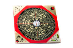 Ancient feng shui compass Luopan Royalty Free Stock Images