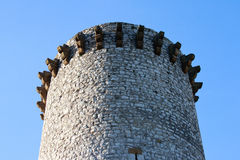Ancient Fire tower in Sisteron, France Royalty Free Stock Image