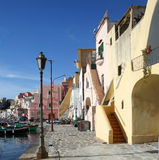 Ancient fishermen village. In Southern Italy Stock Image