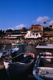 Ancient Fishing Port of Byblos Royalty Free Stock Image