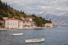 Ancient fishing village. On the shores of the Mediterranean Sea Stock Images