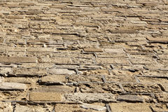 Diminishing Stone Floor Royalty Free Stock Photography
