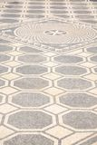 Ancient floor pattern Royalty Free Stock Image