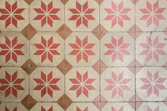 Ancient floor tiles Stock Images