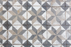 Ancient floor tiles Stock Photos