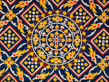 Ancient floral pattern painting on ceiling Royalty Free Stock Photo