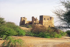 Fujairah Fort Royalty Free Stock Photo
