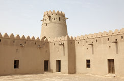 Ancient fort of Al Ain Stock Photos