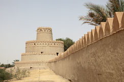 Ancient fort of Al Ain Stock Images