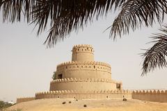 Ancient fort of Al Ain Royalty Free Stock Photo