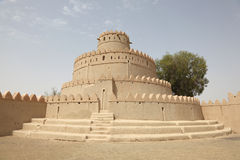 Ancient fort of Al Ain, Abu Dhabi Royalty Free Stock Photography