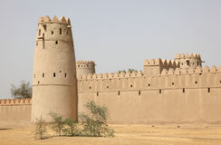 Ancient fort of Al Ain, Abu Dhabi Stock Photo