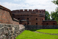 Ancient Fort Don in königsberg. Royalty Free Stock Image