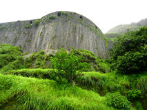 Ancient Fort Lohgad Stock Images