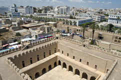 Ancient fort ribat in Sousse royalty free stock photos