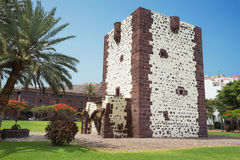 Ancient fort, torre del conde in San Sebastian de la Gomera, Can Royalty Free Stock Image