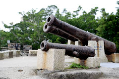 The ancient   fort in xiamen,fujian Stock Photography