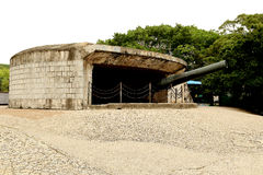 The ancient   fort in xiamen,fujian. Was building in 1894 Stock Image